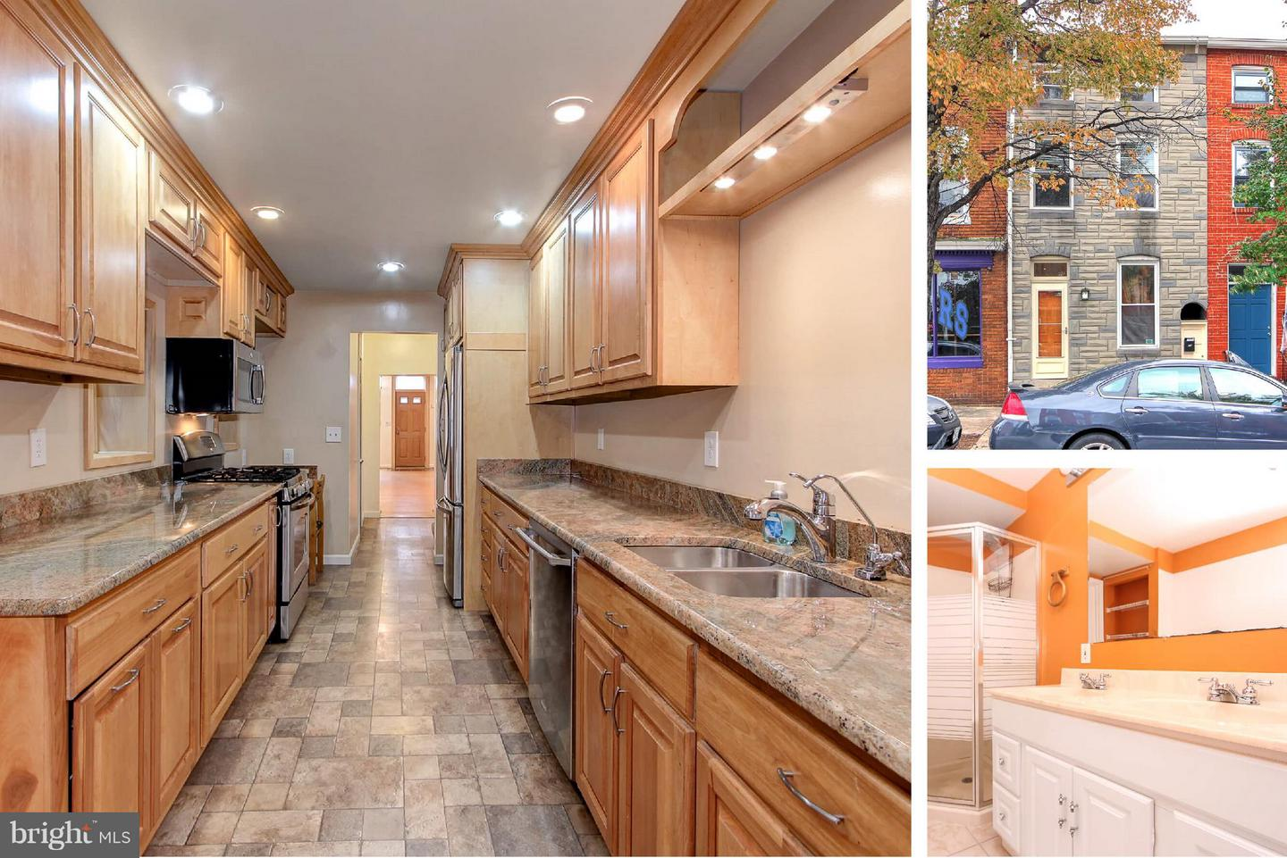 Photo of home for sale at 303 Ann Street, Baltimore MD