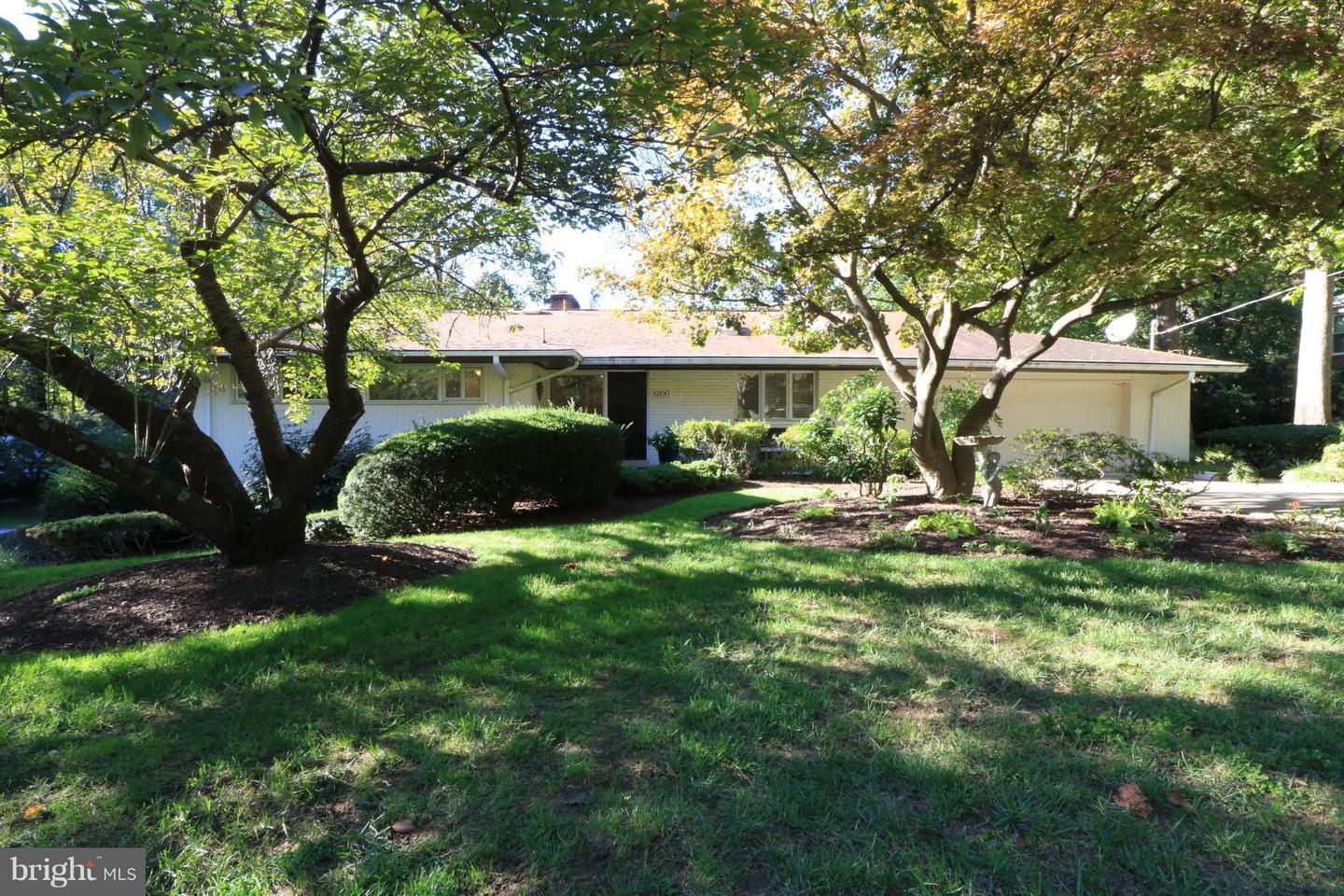 Photo of home for sale at 8200 Woodhaven Boulevard, Bethesda MD