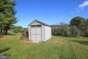Garden shed for extra storage - 4610 MOCKINGBIRD LN, FREDERICK