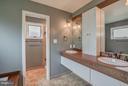 Master bathroom with double vanity and soaking tub - 506 NORWOOD ST, ARLINGTON