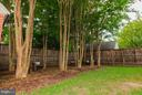 Backyard grassy area and private shaded area - 506 NORWOOD ST, ARLINGTON