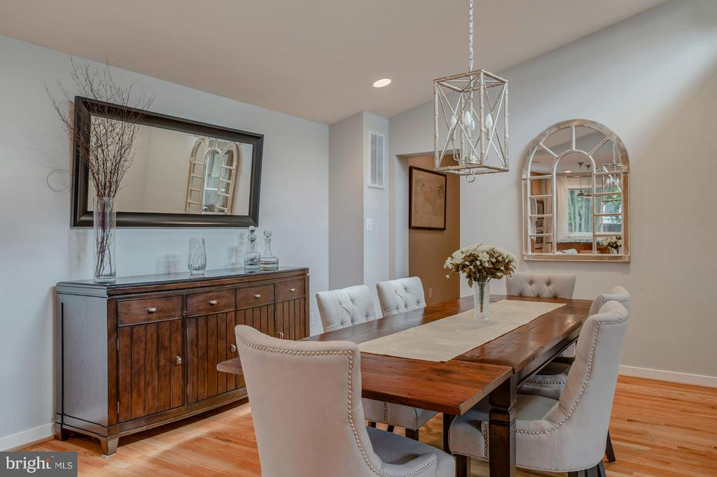 Spacious Dining room that could seat a 12 - 506 NORWOOD ST, ARLINGTON