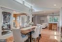 Dining Room - Studay - Living Room - Kitchen - 506 NORWOOD ST, ARLINGTON