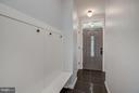 Mudroom with second Washer/Dryer set - 506 NORWOOD ST, ARLINGTON