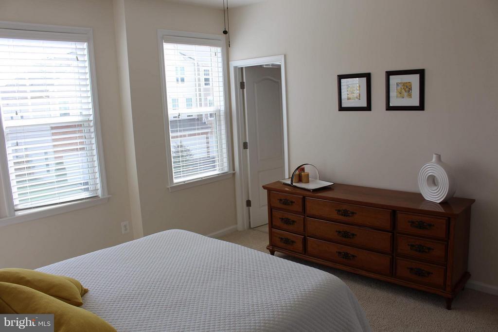 Upper level front bedroom view 3, Walk in closet. - 41846 APATITE SQ, ALDIE