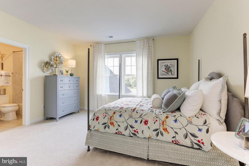 Bedroom 3 with en suite bath and walk in closet - 40736 WILD PLUM DR, ALDIE