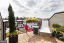 Private Roof-deck off Master Loft - 1313 LINDEN CT NE, WASHINGTON