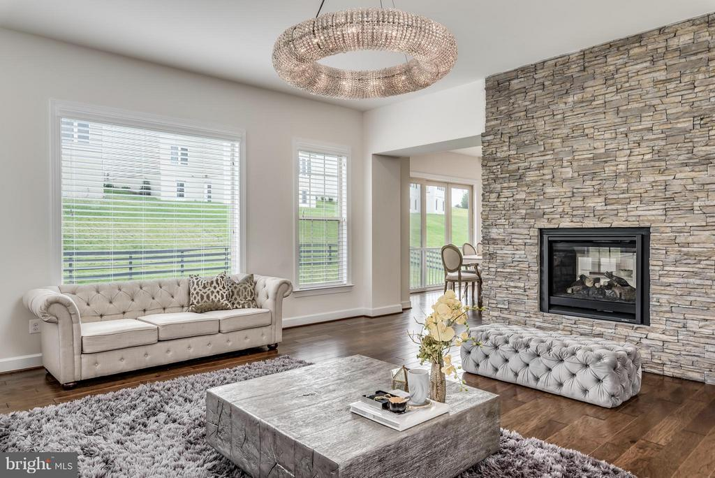 Family Room - 26632 MARBURY ESTATES DR, CHANTILLY