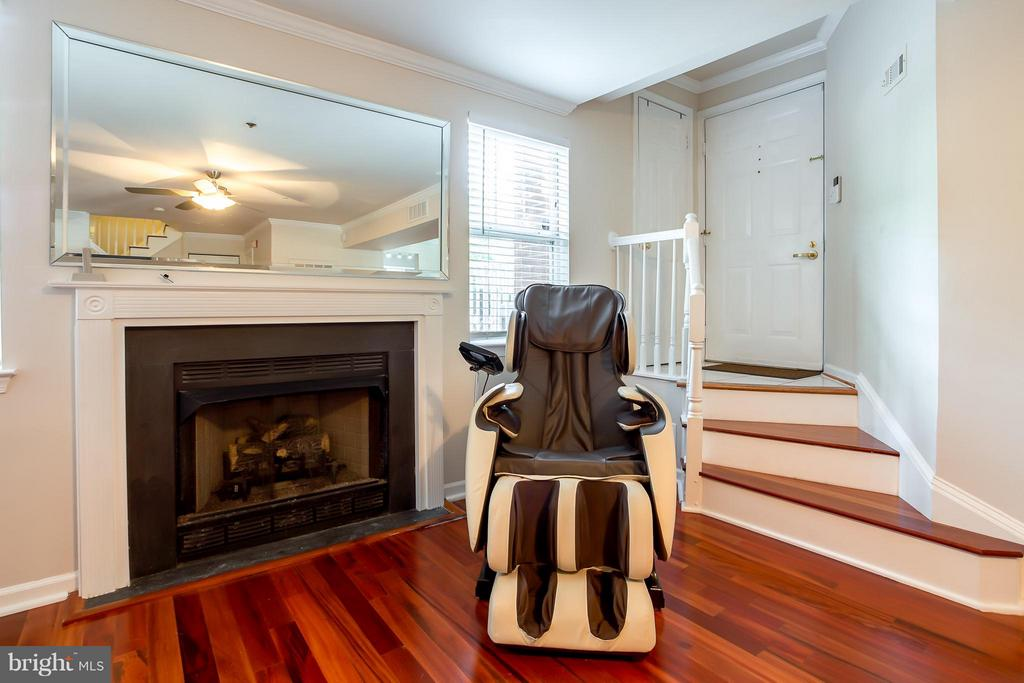 Foyer to Courtyard, Gas Fireplace - 1625 INTERNATIONAL DR #TH1, MCLEAN