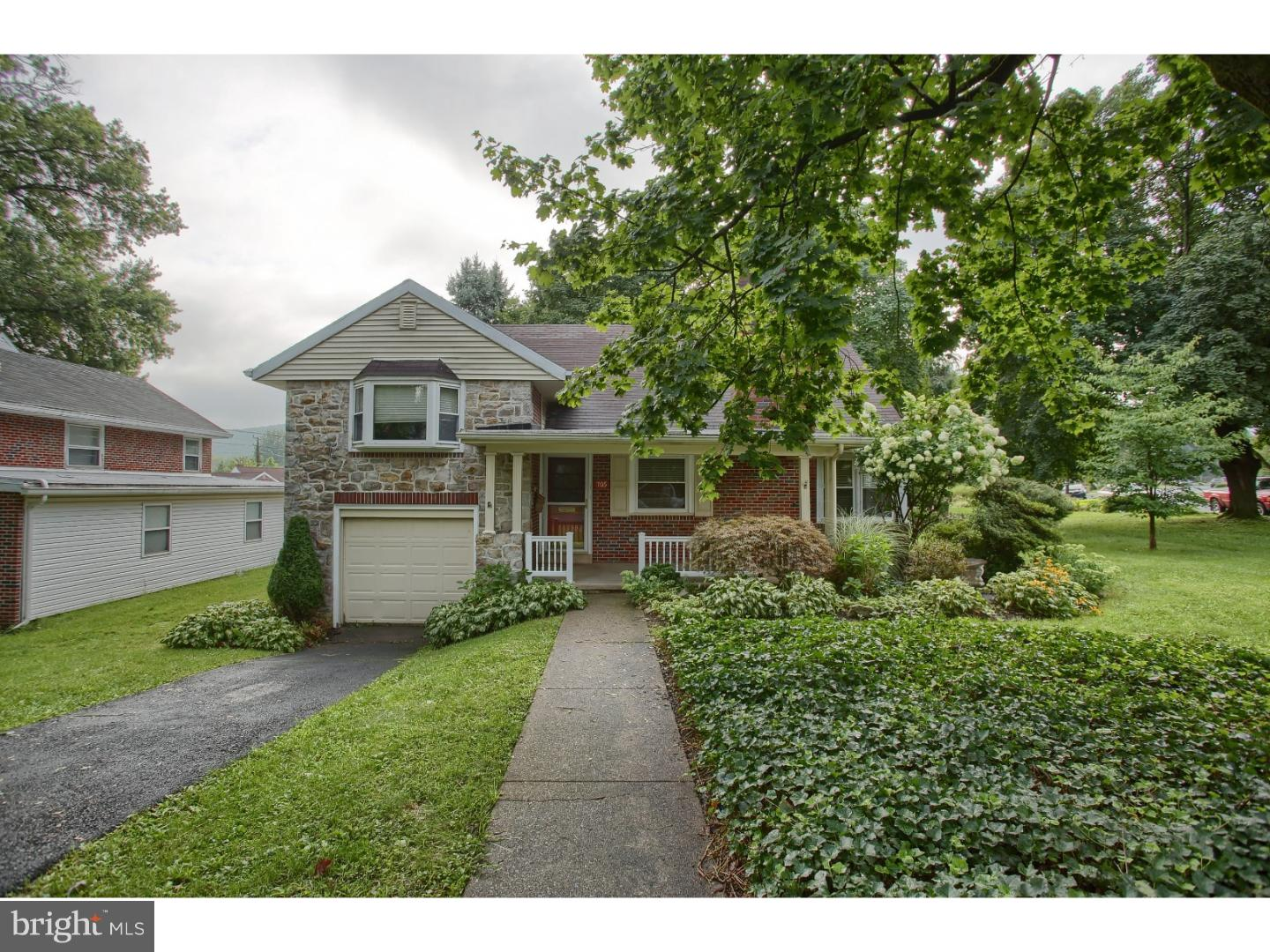 Photo of home for sale at 705 Byram Street, Reading PA