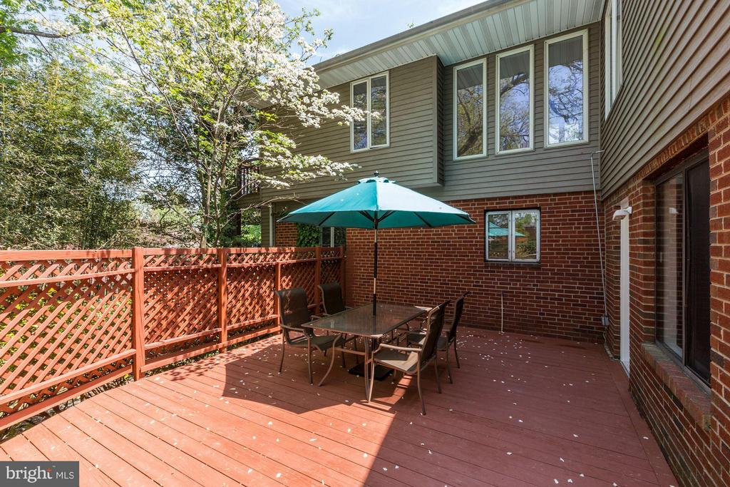 Rear Yard Deck (2 of 3) - 6053 MUNSON HILL RD, FALLS CHURCH