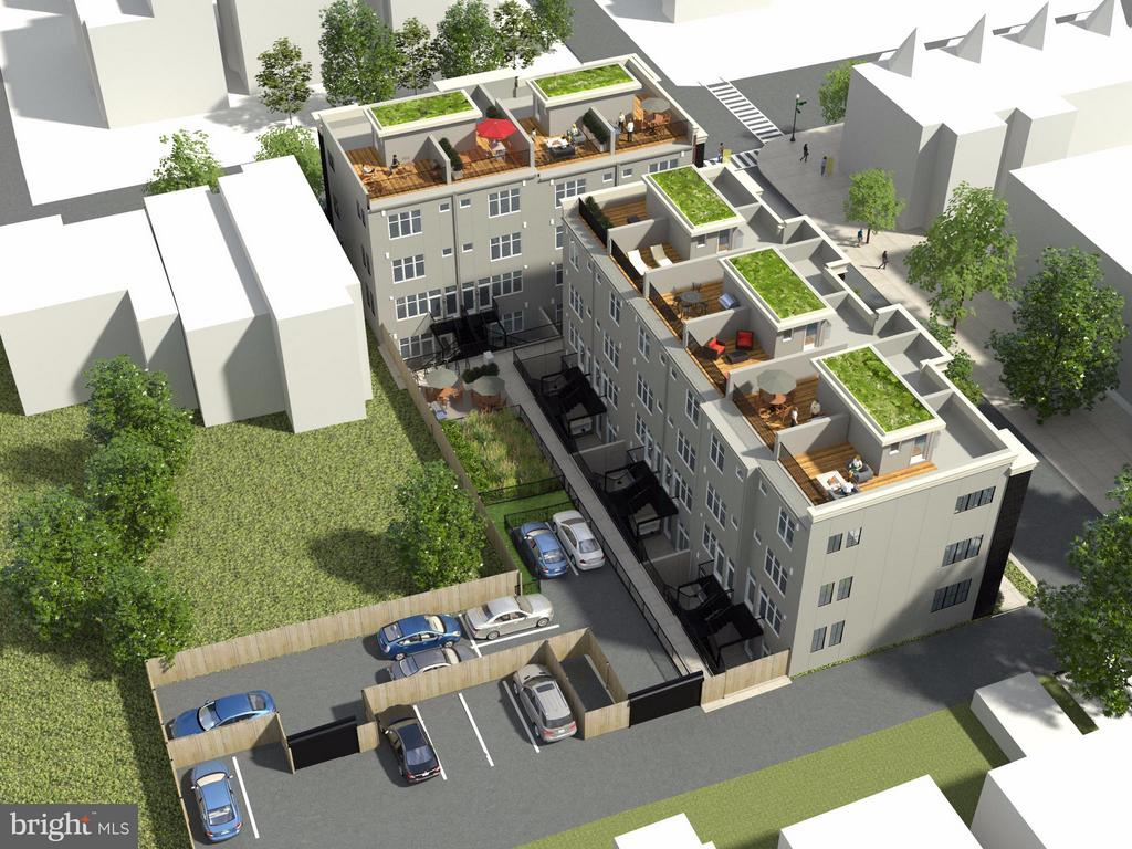 Onsite Surface Parking sold separately - 2806 SHERMAN AVE NW #A, WASHINGTON