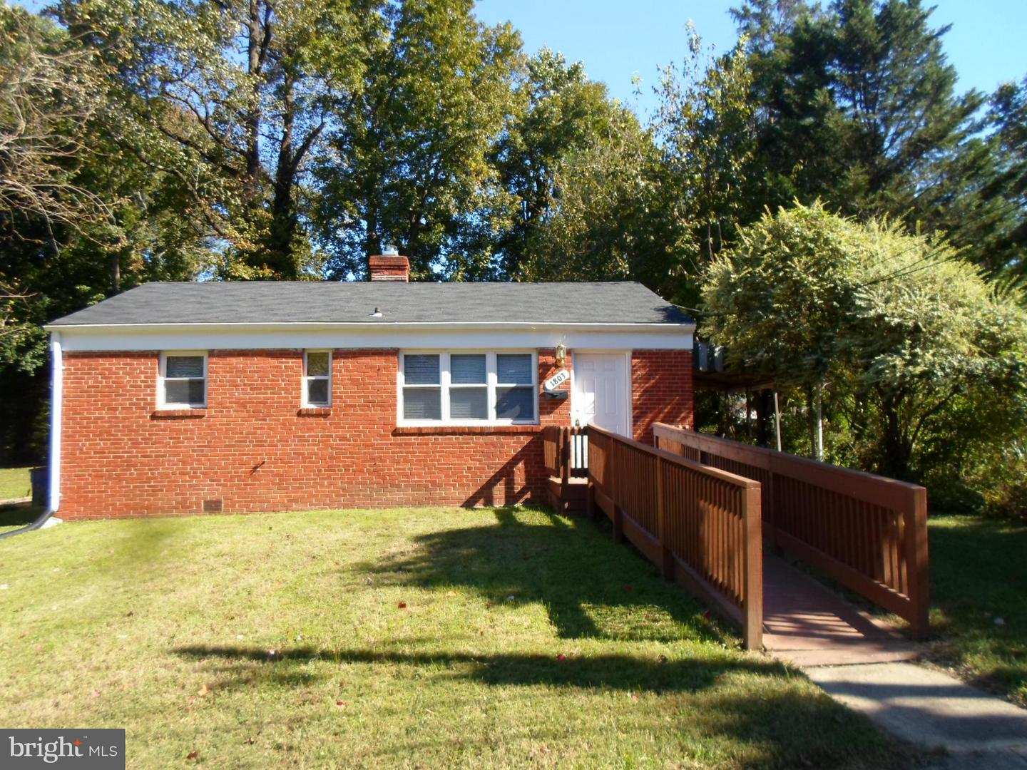 Single Family for Sale at 1803 62nd Ave Cheverly, Maryland 20785 United States