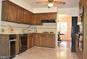 Kitchen - 3402 LYRAC ST, OAKTON