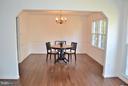 Dining Room - 3402 LYRAC ST, OAKTON