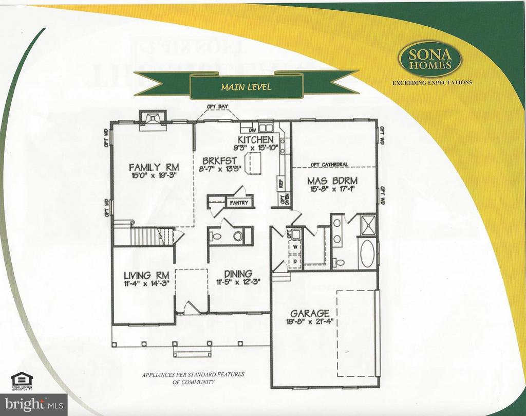 Main Level - 245 MOUNT HOPE CHURCH - LOT 5 RD, STAFFORD