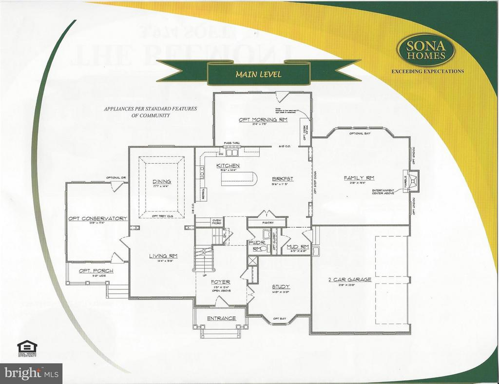 Main Level - STILLWATER - LOT 14, FREDERICKSBURG