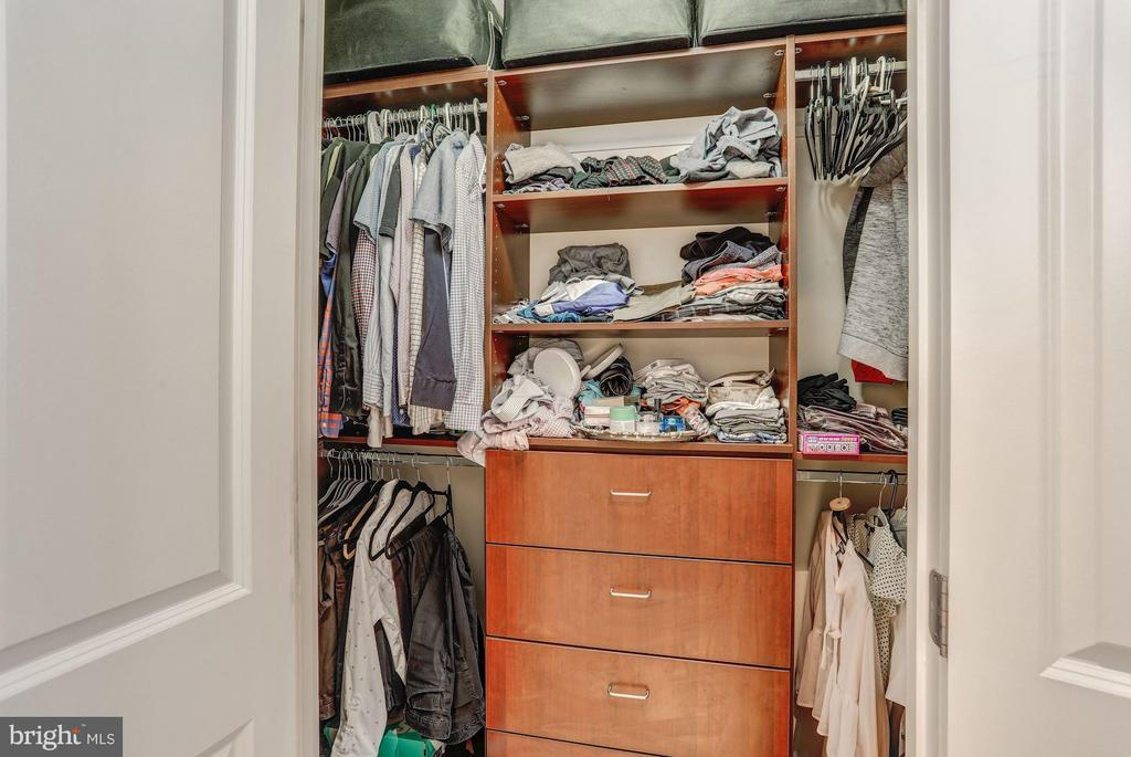 Walk-In Master Closet - 8220 CRESTWOOD HEIGHTS DR #714, MCLEAN