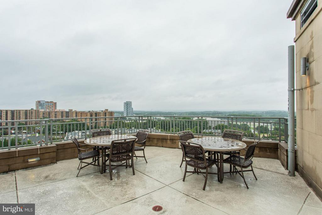 Roof Top Terrace - 8220 CRESTWOOD HEIGHTS DR #714, MCLEAN