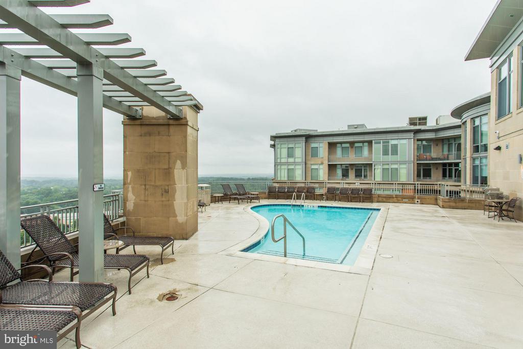 Roof Top Pool - 8220 CRESTWOOD HEIGHTS DR #714, MCLEAN