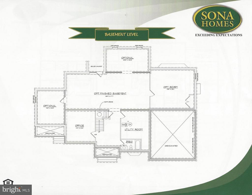 Basement Level - STILLWATER - LOT 14, FREDERICKSBURG