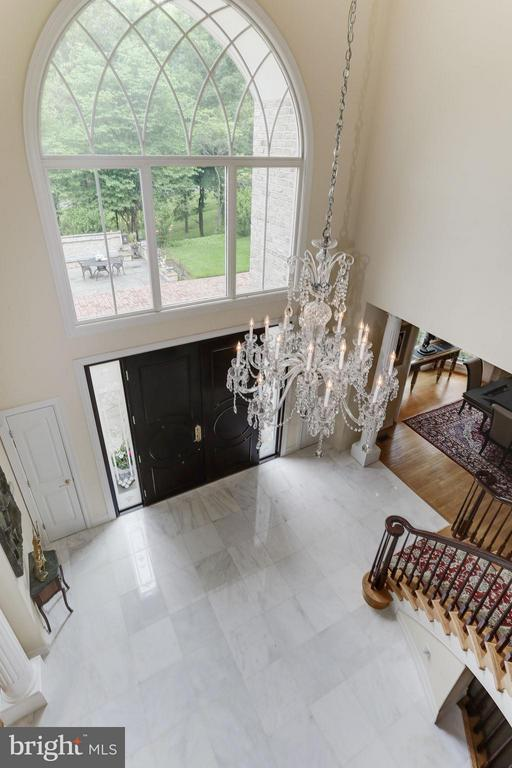 2 story foyer view - 11712 LAKE POTOMAC DR, ROCKVILLE