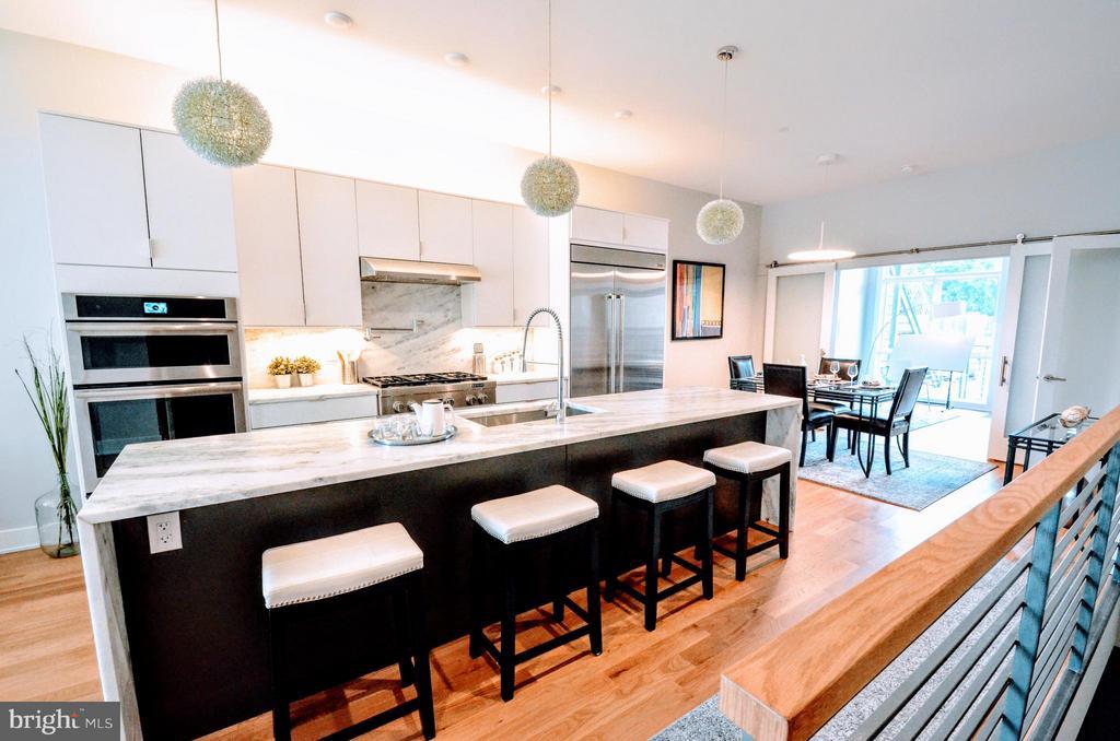 Kitchen - 508 L ST NE #A, WASHINGTON