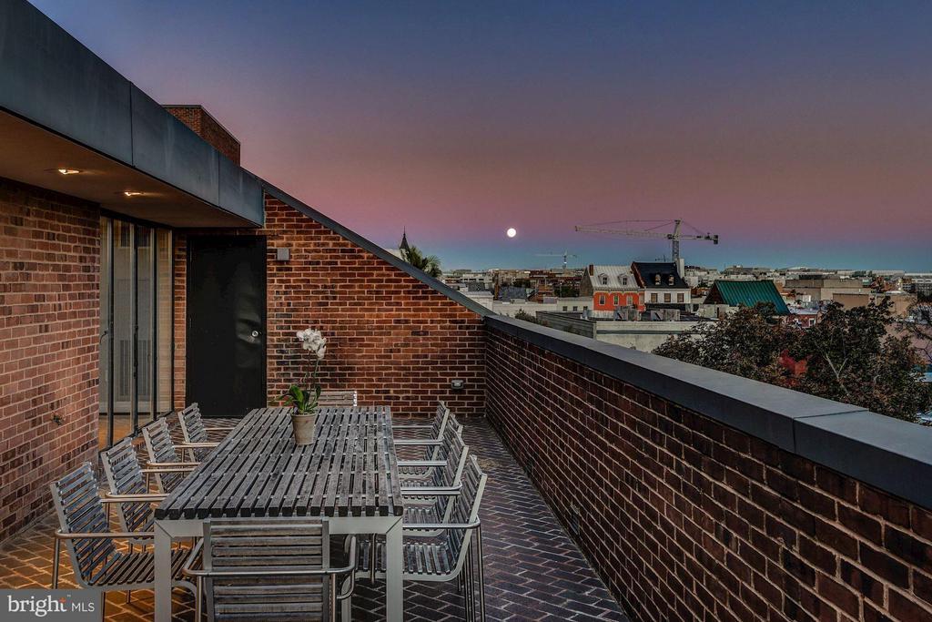 Terrace Great for Entertaining - 3251 PROSPECT ST NW #402, WASHINGTON