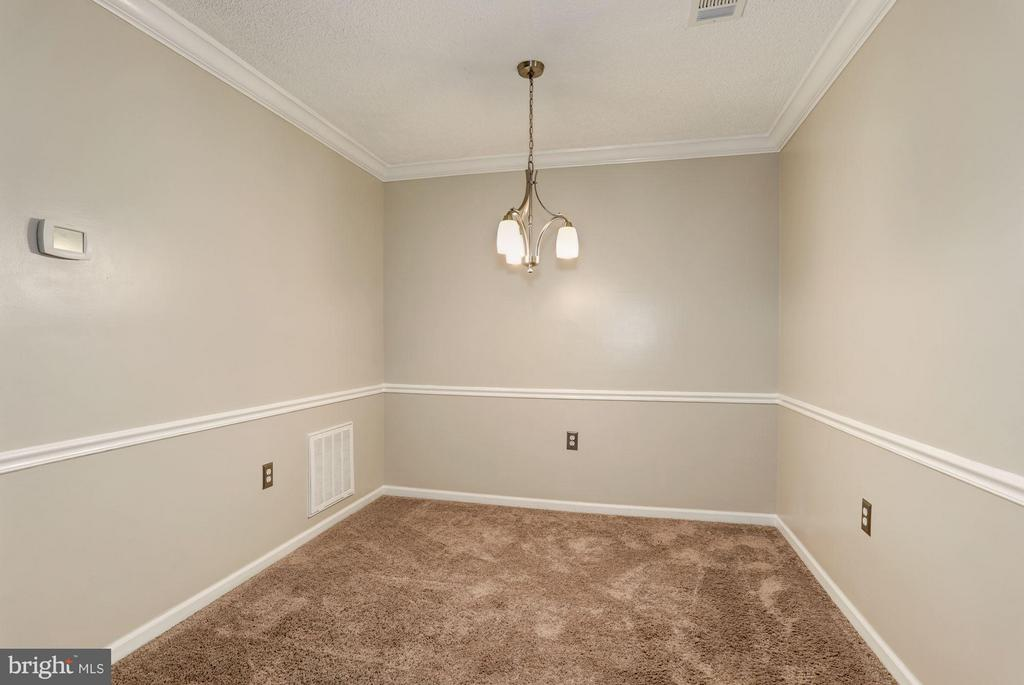 Dining Room - 7260 GLEN HOLLOW CT #1, ANNANDALE
