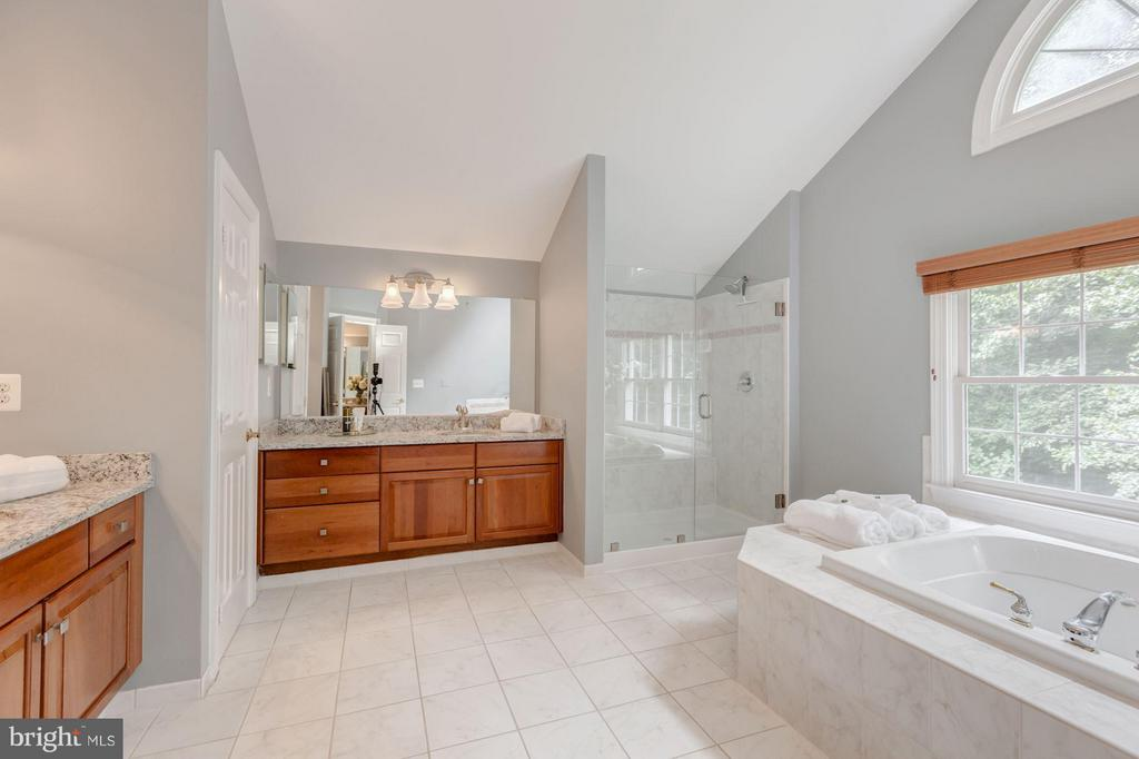 Soaking tub, dual shower, and separate vanitiies - 296 SINEGAR PL, STERLING