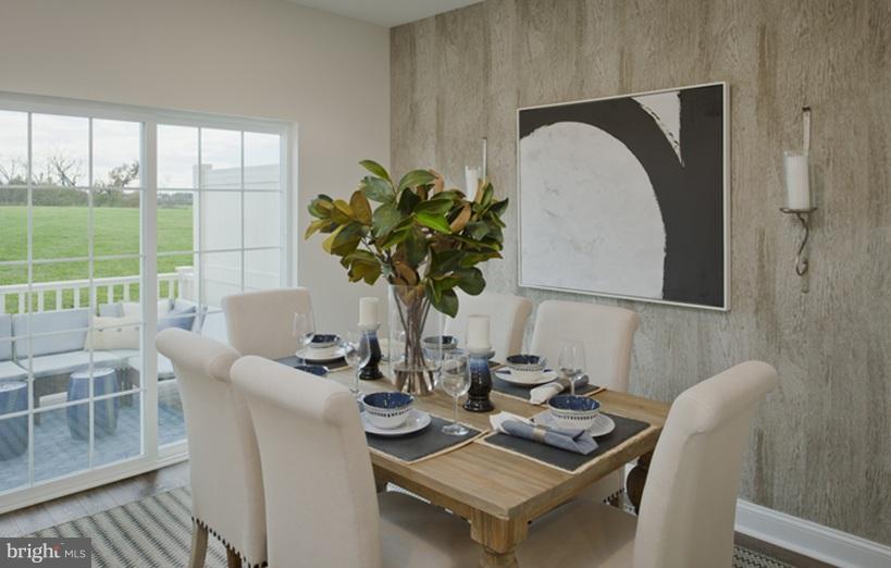 Dinning Room - 13302 GARNKIRK FOREST DRIVE, CLARKSBURG