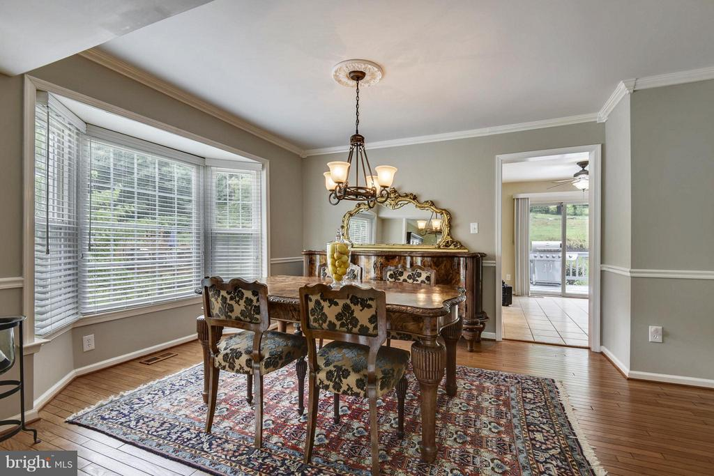 Dining Room - 9833 MAINSAIL DR, GAITHERSBURG
