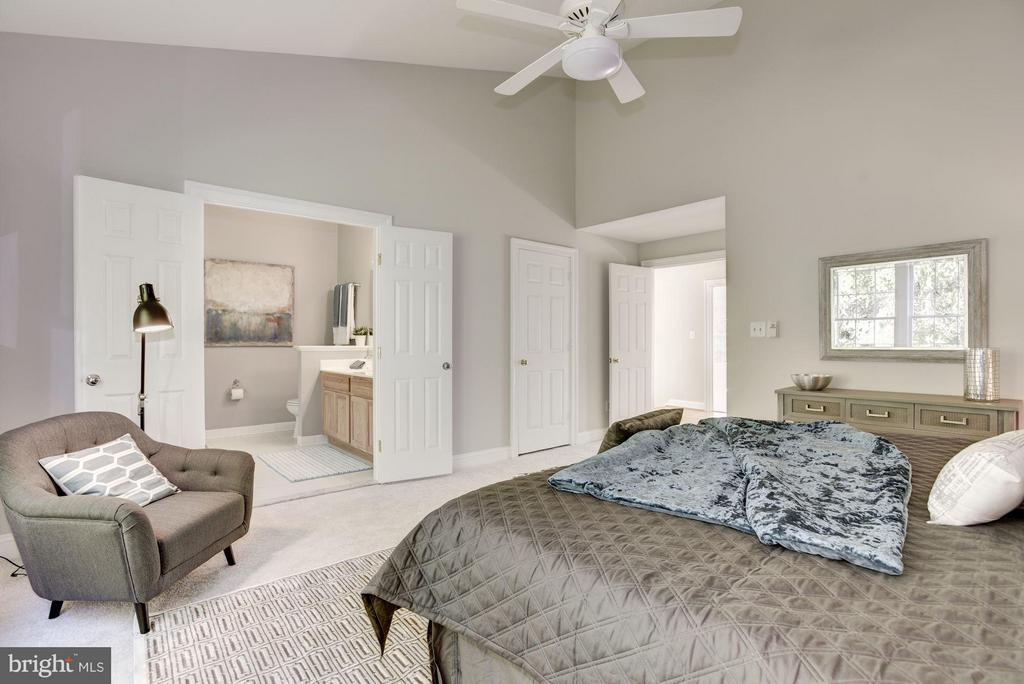 Master with two walkin closets - 1331 SUNDIAL DR, RESTON