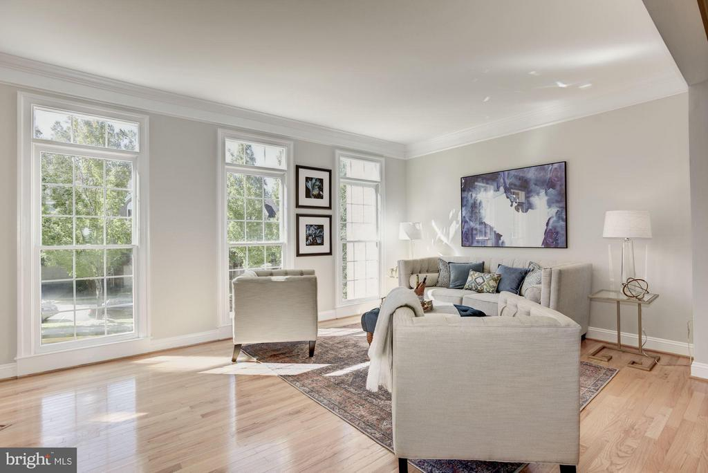 Large living room loaded with light - 1331 SUNDIAL DR, RESTON