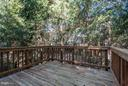 Deck off kitchen and family room - 1331 SUNDIAL DR, RESTON