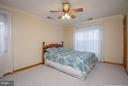 BEDROOM 3 BOASTS A WALK-IN CLOSET - 8021 RUGBY RD, MANASSAS PARK