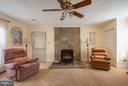COZY UP TO THE PELLET STOVE IN THE FAMILY RM - 8021 RUGBY RD, MANASSAS PARK