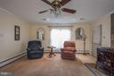 SPACIOUS FAMILY ROOM - 8021 RUGBY RD, MANASSAS PARK