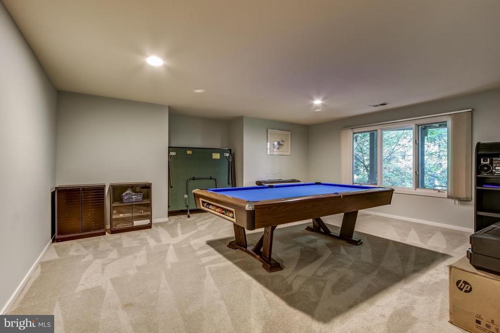 Lower Level Game Room - 1511 N VILLAGE RD, RESTON