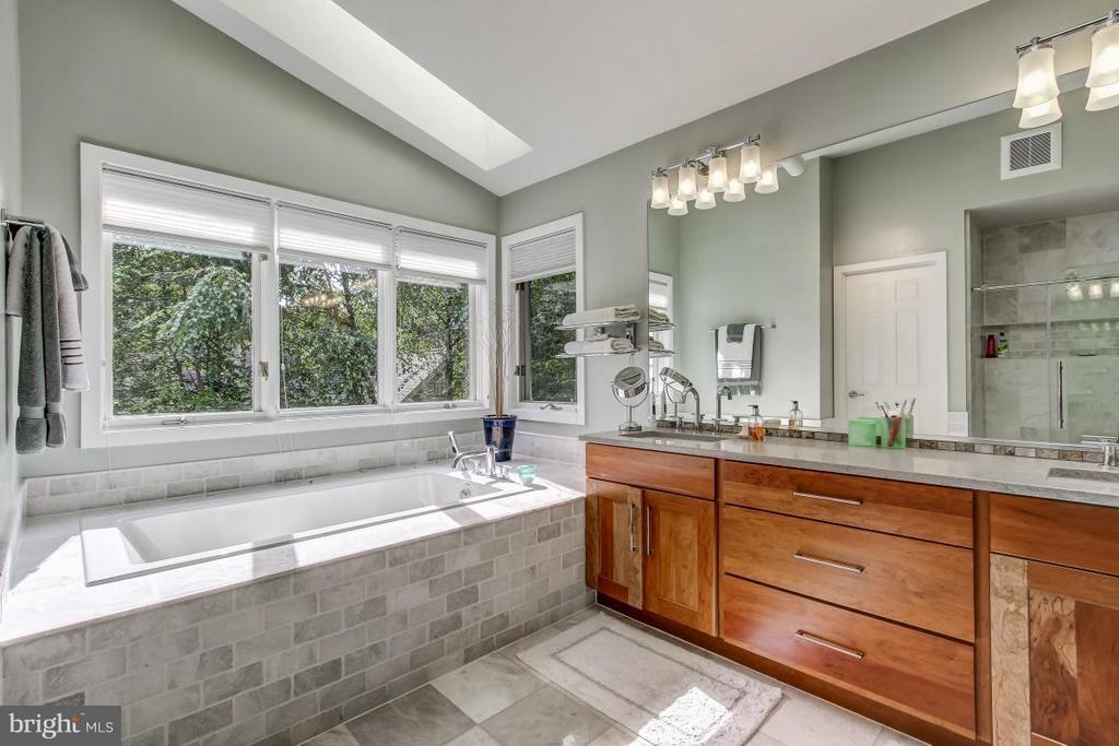 Stunning Master Bath renovation! - 1511 N VILLAGE RD, RESTON