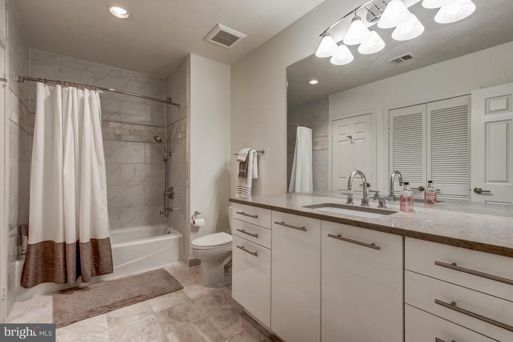 Lower Level full bath-also updated! - 1511 N VILLAGE RD, RESTON