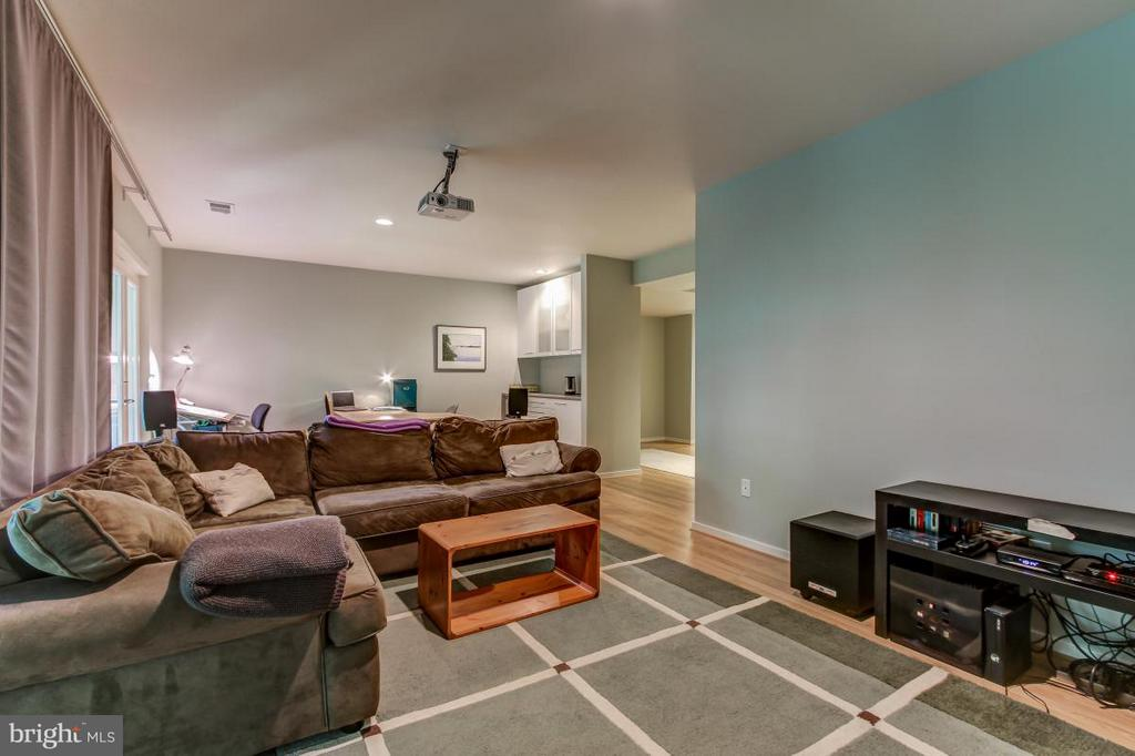 Generously sized Rec Room-ready for you! - 1511 N VILLAGE RD, RESTON