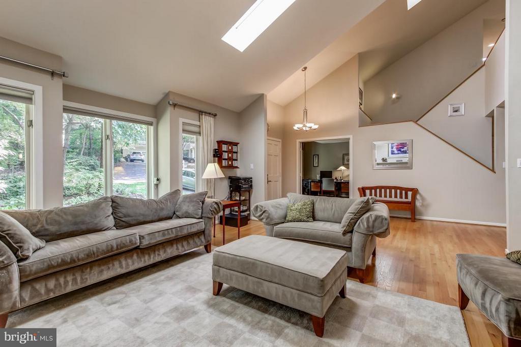 Gleaming hardwood floors on main level - 1511 N VILLAGE RD, RESTON