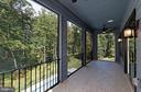 Balcony off Master Bedroom - 9109 DARA LN, GREAT FALLS