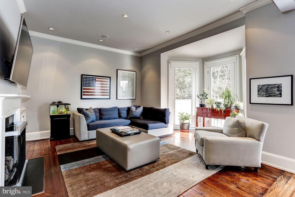 Family Room - 1409 29TH ST NW, WASHINGTON