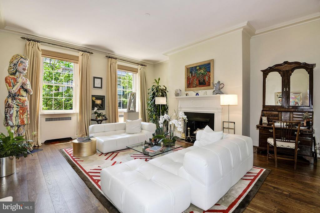 Double Drawing Room - 3263 N ST NW, WASHINGTON