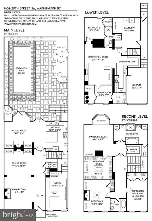 Floorplans - 1409 29TH ST NW, WASHINGTON