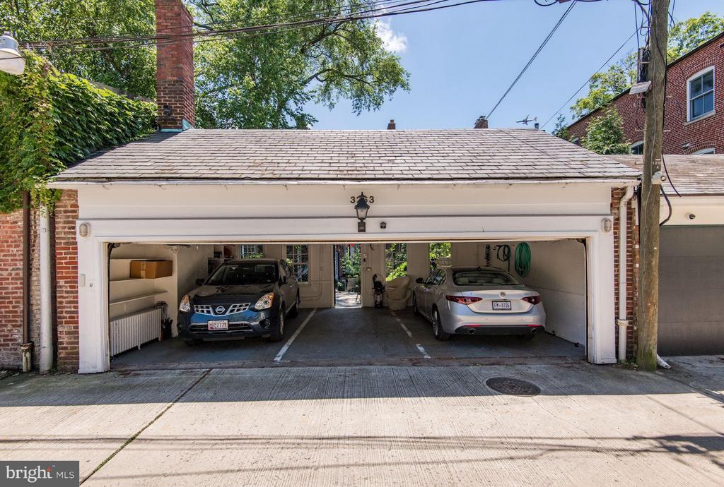 Three-Car Garage - 3263 N ST NW, WASHINGTON