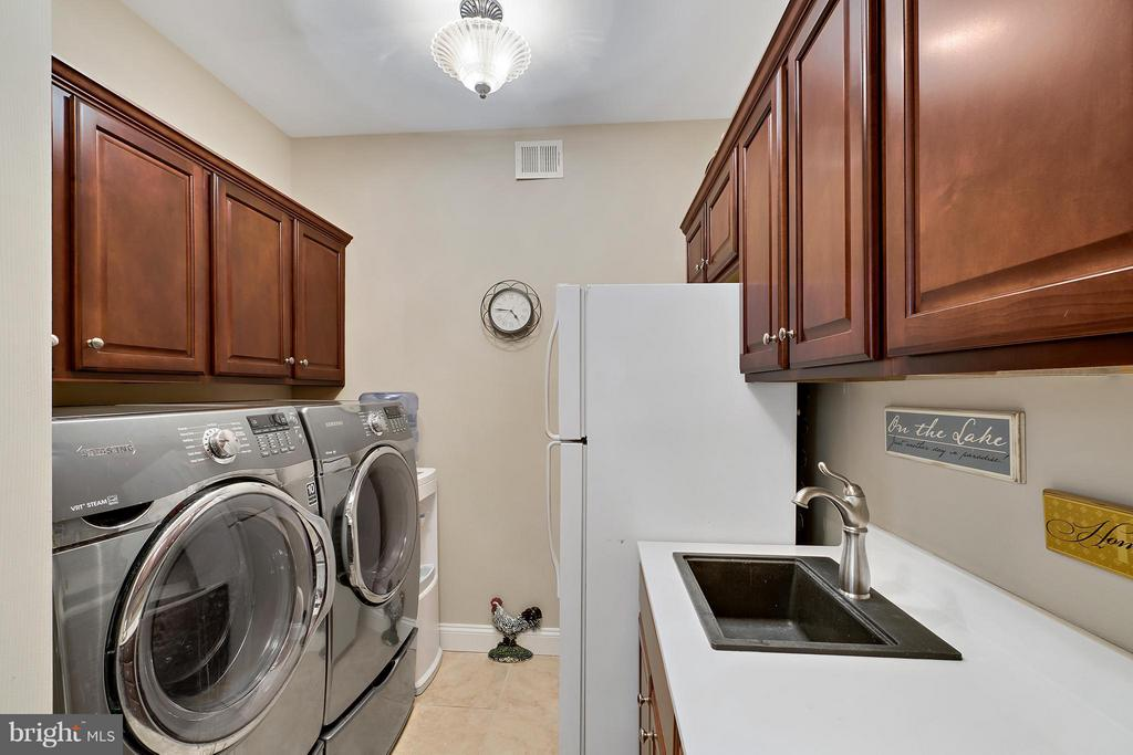 Laundry Room off of 3 car garage (32x25) - 8100 LONGTREE RD, MANASSAS