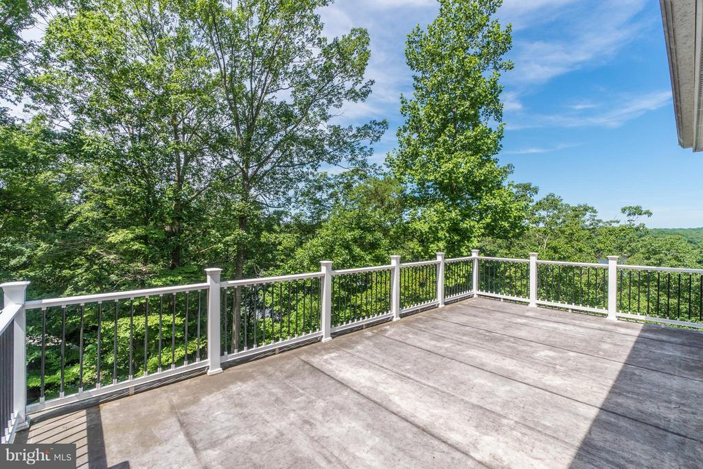 Private Balcony from Upper Level Master Suite! - 8100 LONGTREE RD, MANASSAS